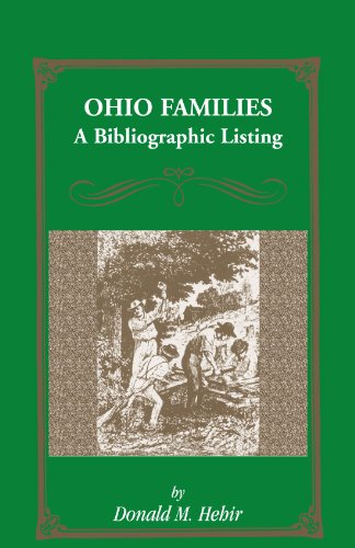 Ohio Families: A Bibliographic Listing of Books About Ohio Families