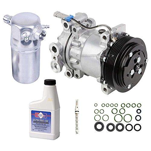 Blazer A/c Compressor - AC Compressor w/A/C Repair Kit For Chevy S10 Blazer GMC Sonoma Isuzu & Olds - BuyAutoParts 60-80115RK New