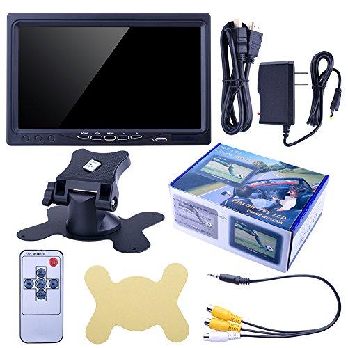 kuman 7 Display Screen Monitor Pi 3 RPi A+ with DVD VCR Car Remote HDMI