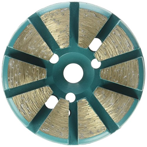 Bond Metal Disc Grinding Diamond (Toolocity MFP3030 3-Inch 30 Grit Multi-Mach Metal Bond Diamond Floor Grinding Disc)