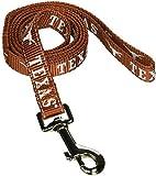 Pet Goods Manufacturing NCAA Texas Longhorns Dog Lead, Medium
