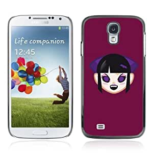 Designer Depo Hard Protection Case for Samsung Galaxy S4 / Cute Vampire Girl
