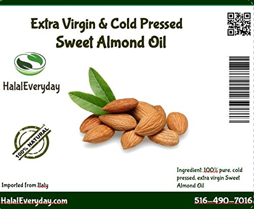 Great Features Of Sweet Almond Oil - 100% Pure and Organic 16 Oz