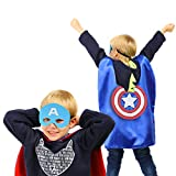Superhero Capes with Masks Dress up Costumes