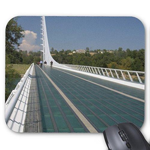 Aidabo The Sundial Bridge at Turtle Bay Mouse Pads Stylish Office - Turtle Sundial