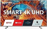"Smart TV Toshiba UHD 4K 55"" QUANTUM DOT Alexa Wifi Integrado Bluetooth 3 HDMI 2 USB Toshiba -"