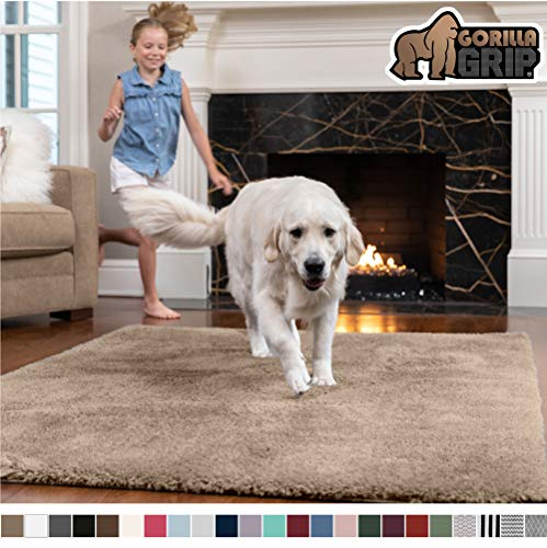 Gorilla Grip Original Faux Chinchilla Rug