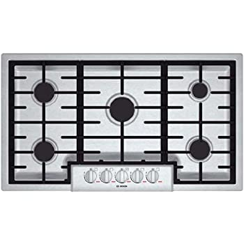 """Bosch NGMP655UC: 36"""" Gas Cooktop Benchmark Series - Stainless Steel"""