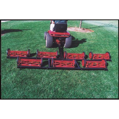 (ProMow 7 Gang Reel Finish Cut Mowing System - 9ft. 8in. Cutting Width, Model# PO701)