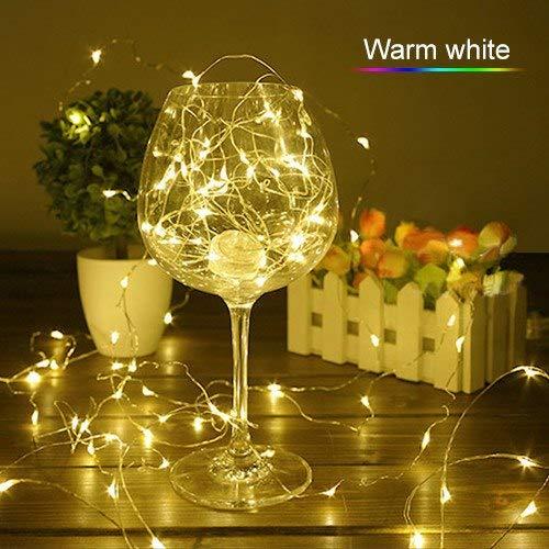 Warm White, 0-5W : ZjRight LED String Lights 4pcs 4M 40Led B