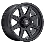 Mickey Thompson Deegan 38 PRO 4 Black Wheel with Matte Black Finish (17x9''/6x5.5'') -12 millimeters offset
