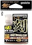 がまかつ(Gamakatsu) シングルフック ザ・ボックス T-1 刻 7.5号 108本