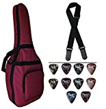 Mexa Extra Padded Bag for Yamaha Acoustic Guitar With Strap & Plectrums.