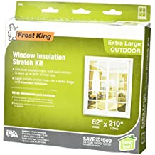 Frost King V95H Stretch Window Kit 62-Inch by 210-Inch