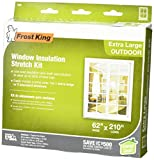 Best Window Insulation Kits - Frost King V95H Stretch Window Kit 62-Inch Review