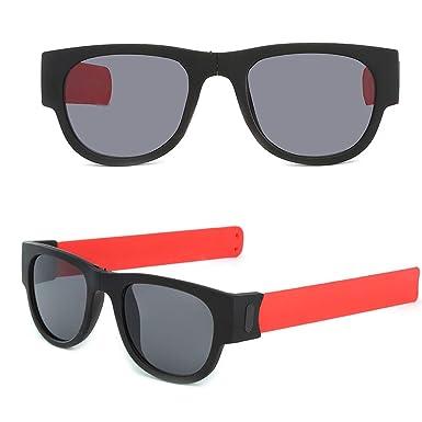 RISTHY Gafas de Sol Plegable Pulsera Creativas Ligeras Al ...