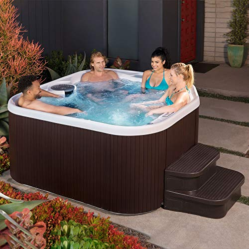 LifeSmart 400DX 5-Person Rock Solid Plug and Play Hot Tub