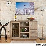 Product review for Furniture of America Julienne Modern Sliding Door Wine Bar Dining Server (light oak)