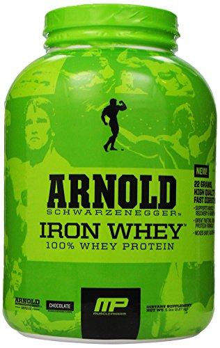 Músculo Pharm Arnold Schwarzenegger serie hierro suero de leche, Chocolate, 5 libras
