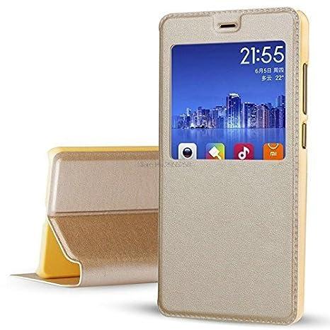 sale retailer ddf17 9151a Newlike Pu Leather Flip Wallet Case for Nokia 2.1 2018 (Gold)