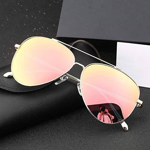 Alta powder De box Redonda Conducción Negro Polarización Gafas Definición Sol Blossom Gafas Cara Cherry Gafas Marco Masculina FKSW Sol Gris Sol De De De Golden wqSSZI
