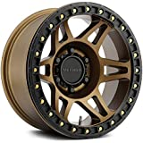 Method Race Wheels MR106 Beadlock RBONZE Wheel with Method Bronze (0 x 9. inches /6 x 139 mm, -44 mm Offset)