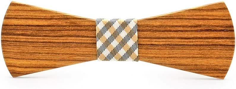 Corbatas Corbata Estuche Granos de madera Corbatas de lazo Regalo ...