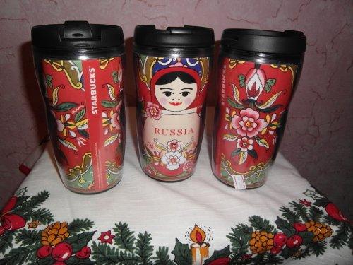 Starbucks Matryoshka Tumbler Russia Tumbler 8 Oz