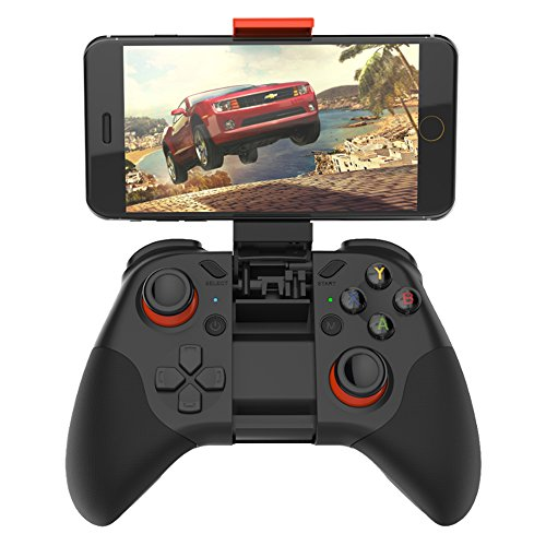 Wireless Bluetooth Games Controller With Joystick For Vr Glasses  Built In Holder For Smartphones  Compatible With Almost Computers From The High Quality Brand Shinecon   C07
