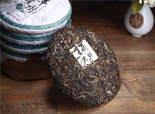 Aseus Pu'er Tea health tea cake 2016 100 year old Huang Jia Zhai Changning mang water trees tea trees by Aseus-Ltd
