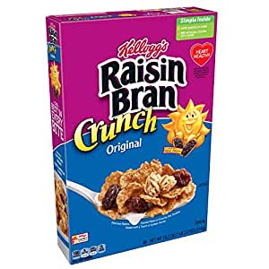 raisin bran crunch with bananas