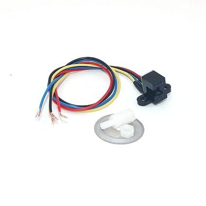 Amazon com: WINGONEER 5V Photoelectric Speed Sensor Encoder
