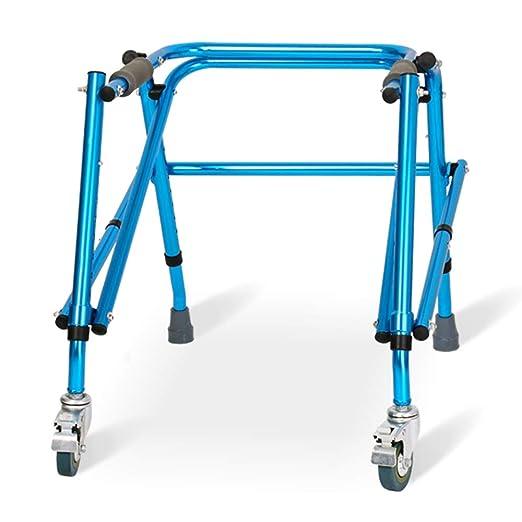 Andadores Chunlan Caminante discapacitado Anciano Plegable Azul, 2 ...