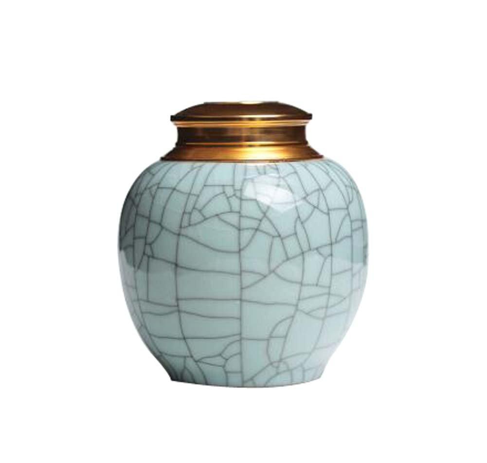 Koala Superstore Estaño Estaño Estaño de cerámica del almacenaje del té del envase del té del envase del té diseño, patrón D 134e5e