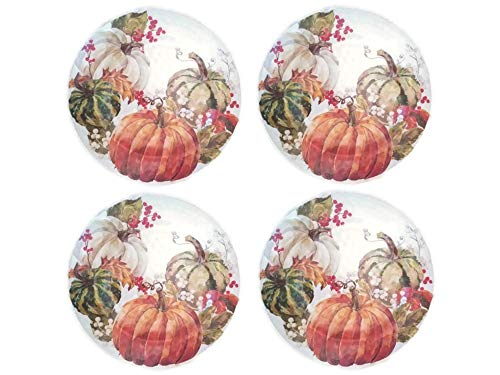 Autumn Harvest Berries and Pumpkin Melamine 11