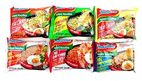 Indomie Variety Pack - 1 Case (30 Bags) ()