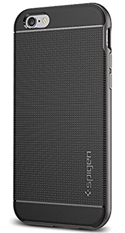 Spigen Neo Hybrid iPhone 6S Case with Flexible Inner Protection and Reinforced Hard Bumper Frame for iPhone 6S / iPhone 6 - (Iphone 6 Case With Metal)