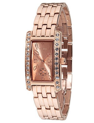 Yves Camani Amance II Women's Wrist Watch Quartz Analog Rosegold Stainless Steel Casing & Strap