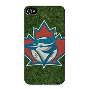 Goldenautumn Iphone 4/4s Well-designed Hard Case Cover The Toronto Blue Jays Protector For New Year's Gift