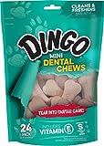 Dingo Denta Treats Teeth Whitening Mini Chews, 24 Pack Review