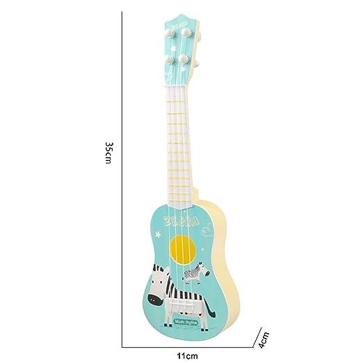 Baipin Guitarra para Niños, Guitarra de Juguete, 4 Cuerdas ...