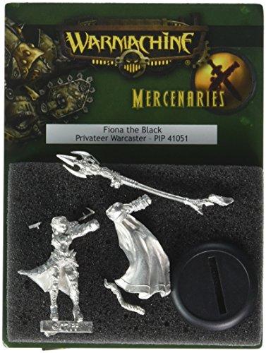 Privateer Press - Warmachine - Mercenary: Fiona The Black Warmachine Model Kit 3