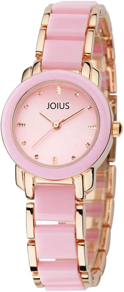 ファッションレディースクォーツ腕時計防水ブレスレットメスwatch-a
