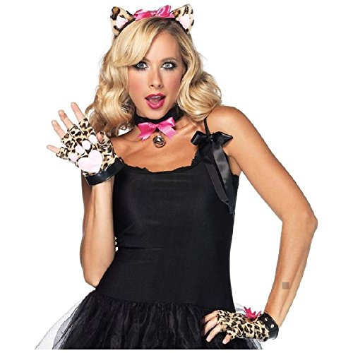 Cougar Kit Jungle Kitty Cat Costume Accessory Adult Halloween -