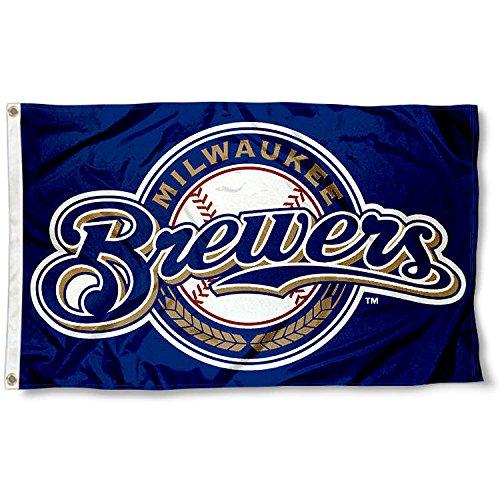 WinCraft Milwaukee Brewers Flag 3x5 MLB Banner