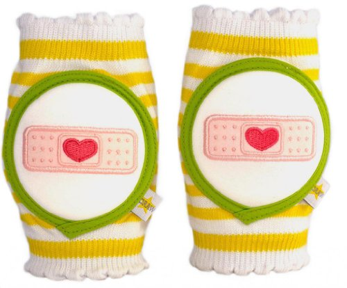 Tile Patching Ceramic (Crawlings Unisex Bandage Knee Pads One Size Yellow)