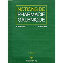 Notions de pharmacie galenique