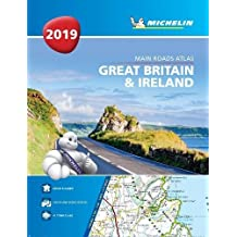 Great Britain & Ireland 2019 - Tourist & Motoring Atlas A4 Spiral 2019