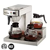 Three Burner Low Profile Commerical Coffee Brewer