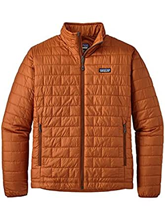 Patagonia Men's Nano Puff Jacket (XS, Copper Ore)